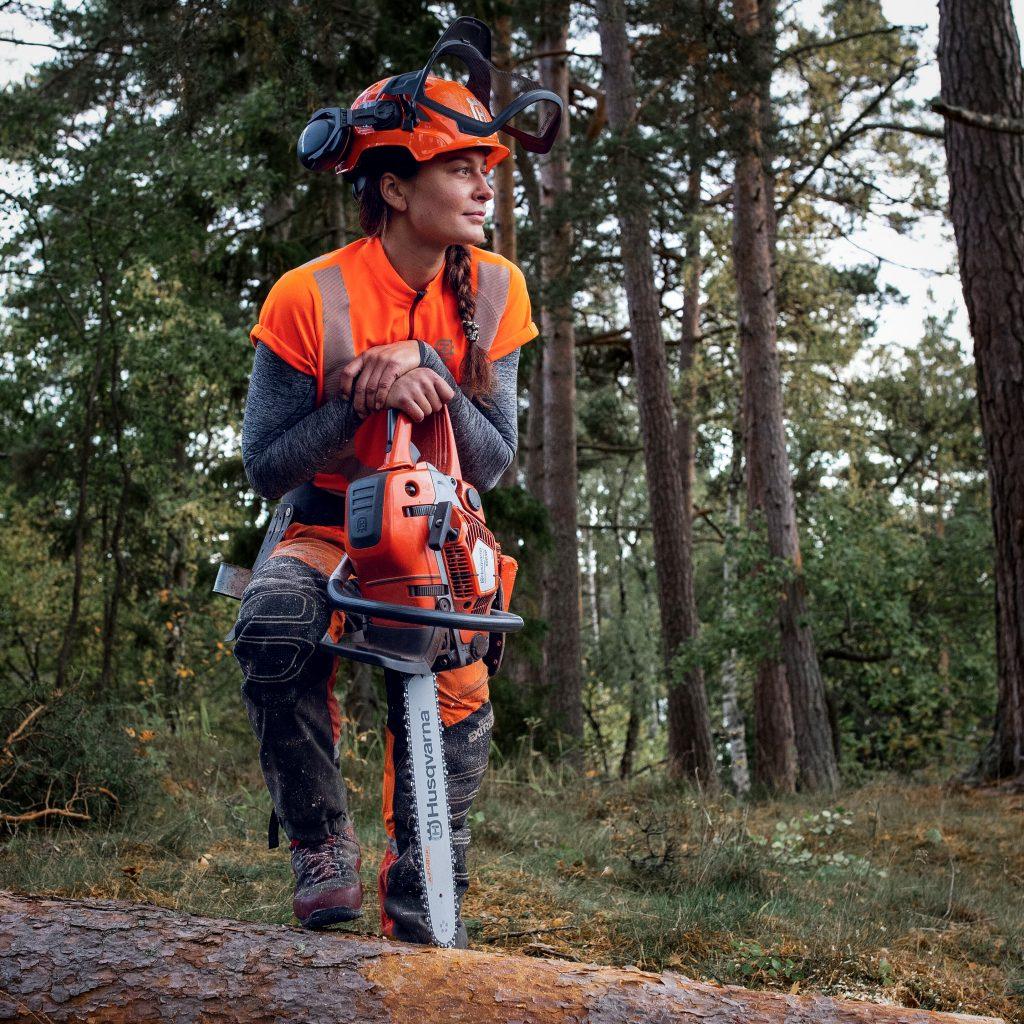 Husqvarna, h-team, arborist, trädfällning, sektionsfällning, 550xpgmark2